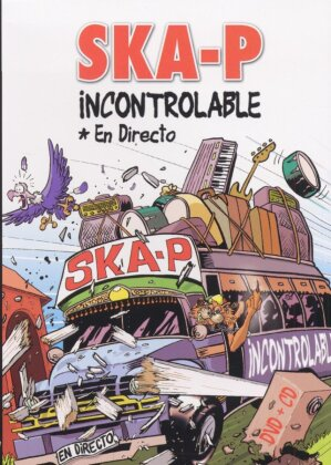 Ska-P - Incontrolable - Live 2003 (DVD + CD)
