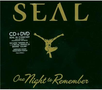 Seal - One Night To Remember (CD + DVD)