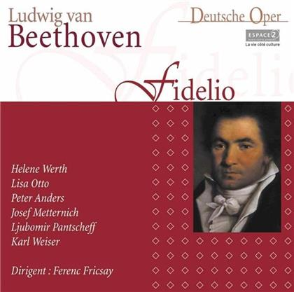 Fricsay/Werth/Otto/Anders/Metternich & Ludwig van Beethoven (1770-1827) - Fidelio - 6.11.1959 Grand Casino Genf