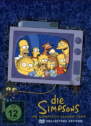 Die Simpsons - Staffel 4 (Collector's Edition, 4 DVDs)