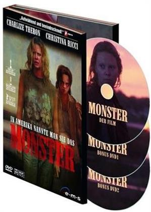 Monster (2003) (Deluxe Edition, 3 DVD)