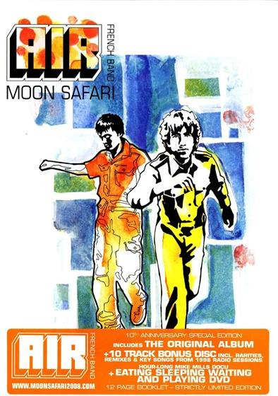 Air - Moon Safari (2 CDs + DVD)
