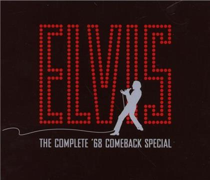 Elvis Presley - Complete '68 Comeback - Jewelcase Box (4 CDs)