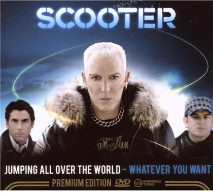 Scooter - Jumping All Over - Whatever (2 CDs + DVD)