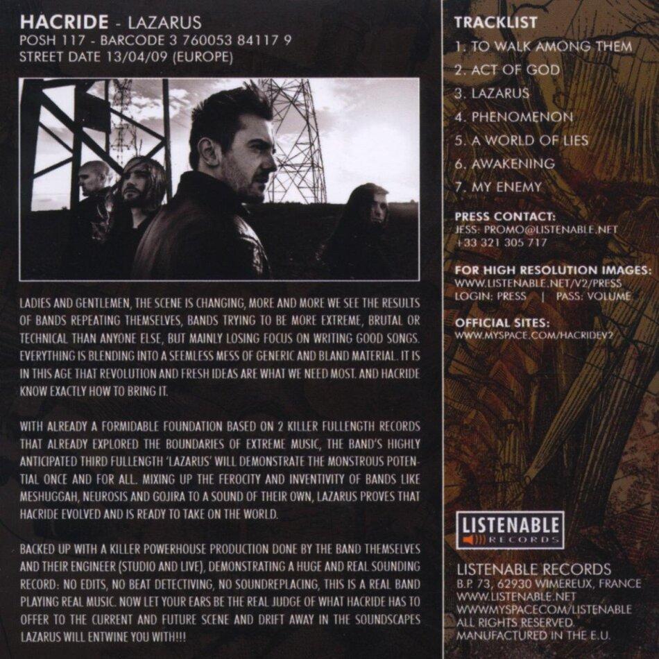 Lazarus Von Hacride Cedech