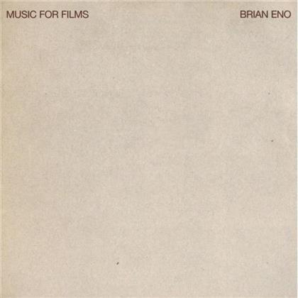 Brian Eno - Music For Films - Jewel Case (Remastered)