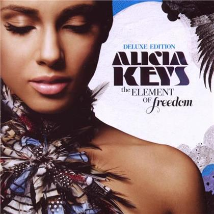 Alicia Keys - Element Of Freedom (Deluxe Edition, CD + DVD)