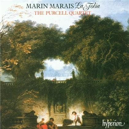 The Purcell Quartet & Marin Marais - Les Folies D'espagne