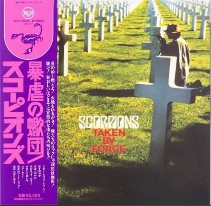 Scorpions - Taken By Force - Papersleeve (Remastered)
