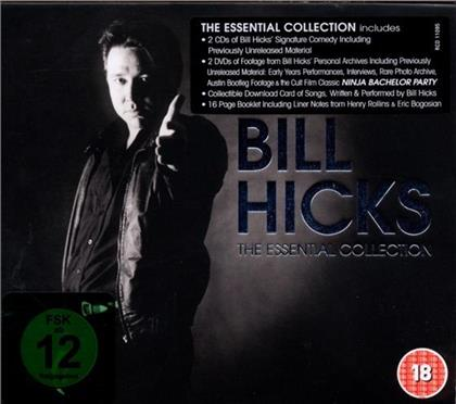 Bill Hicks - Essential Collection (2 CDs + 2 DVDs)