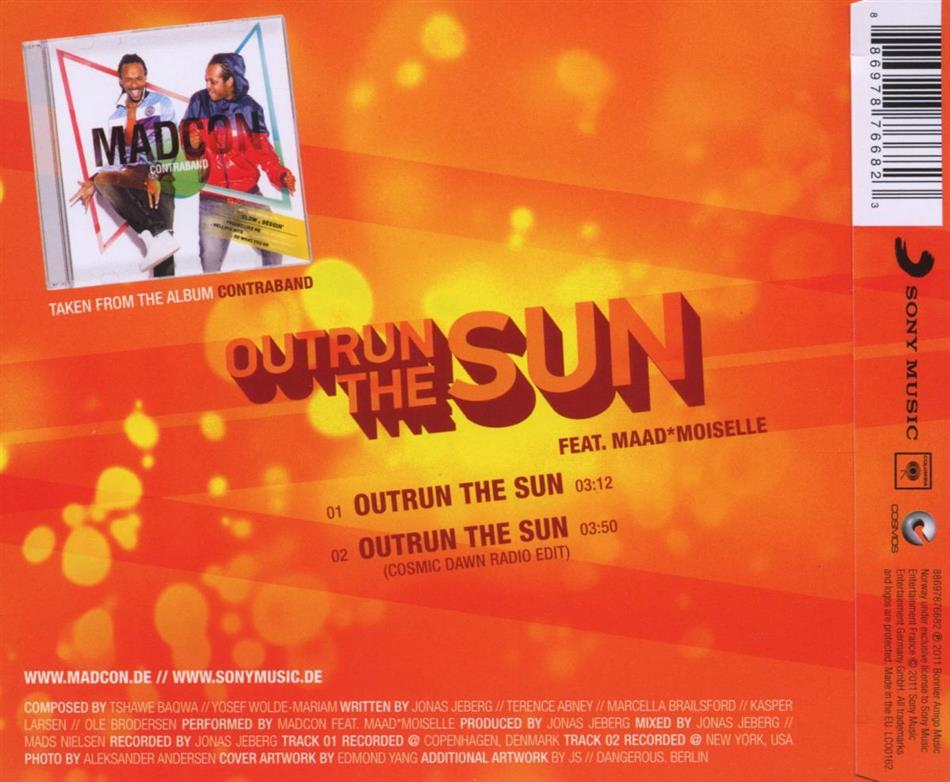 Outrun The Sun - 2Track by Madcon