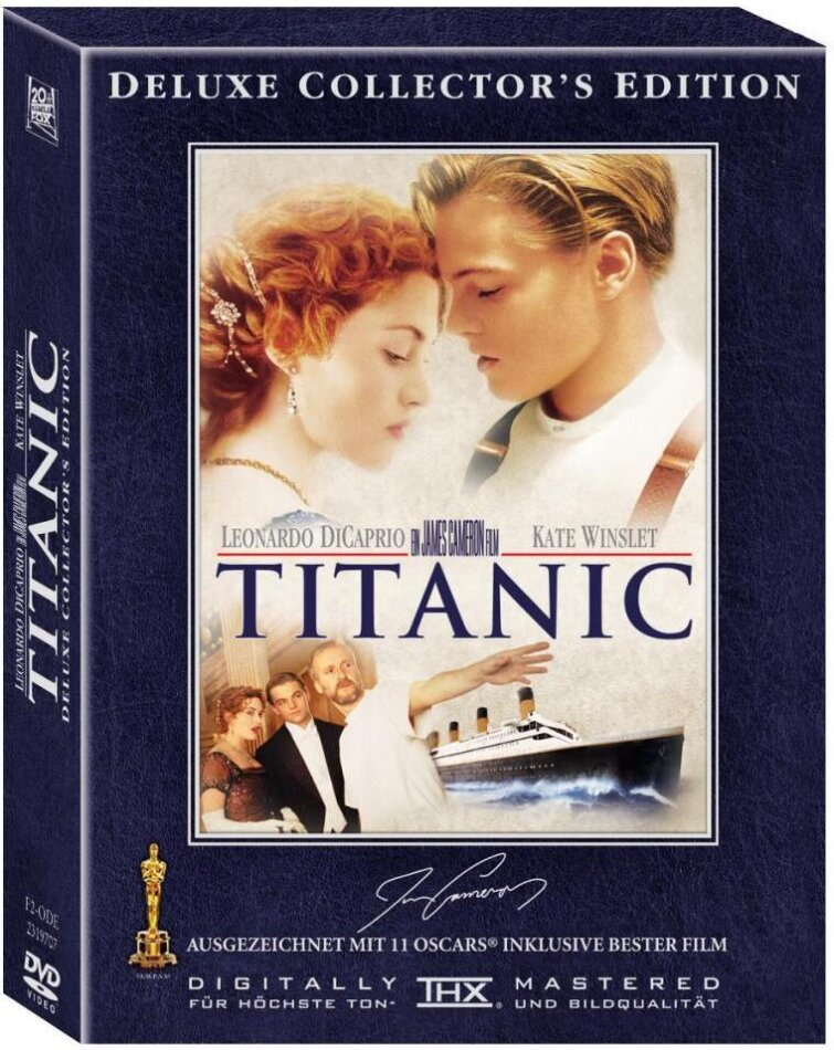 Titanic (1997) (Deluxe Collector's Edition, 4 DVDs)
