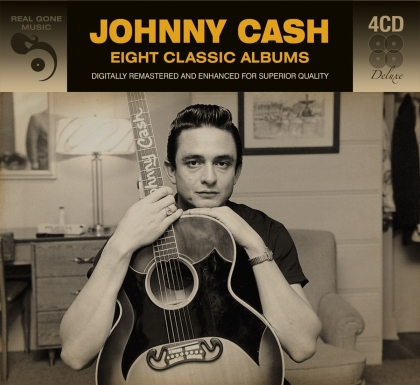 Johnny Cash - 8 Classic Albums (4 CDs)