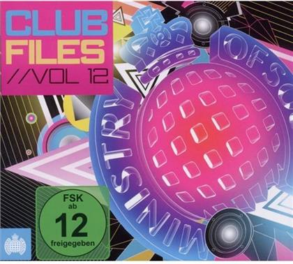 Ministry Of Sound - Club Files Vol.12 (2 CDs + DVD)
