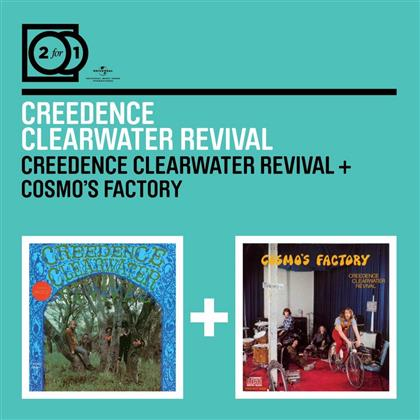 Creedence Clearwater Revival - 2 For 1: Creedence Clearwater - Creedence Clearwater Revival / Cosmo's Factory (2 CDs)