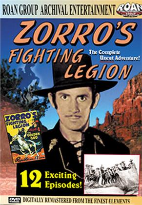 Zorro's fighting legion (1939) (Remastered)