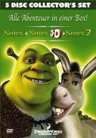 Shrek Collection Box (Collector's Edition, 5 DVDs)
