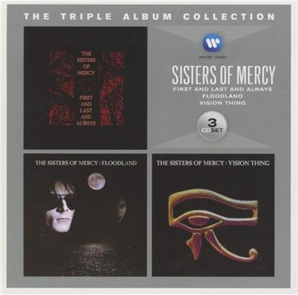 The Sisters Of Mercy - Triple Album Collection (3 CDs)
