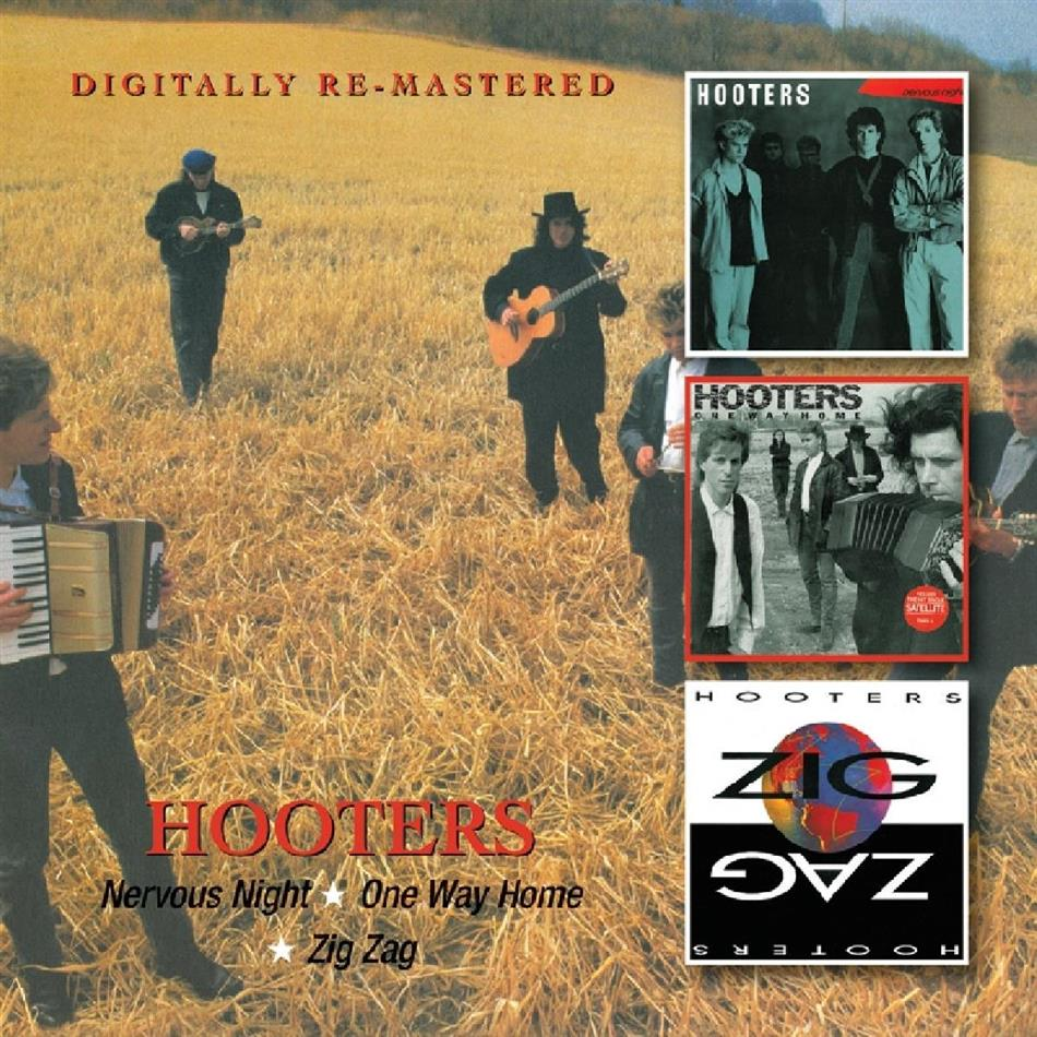 The Hooters - Nervous Night / One Way (2 CDs)