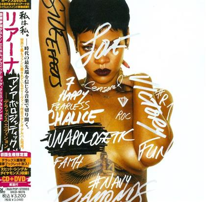 Rihanna - Unapologetic (Deluxe Edition, CD + DVD)