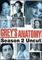Grey's Anatomy - Season 2 (Uncut, 6 DVD)