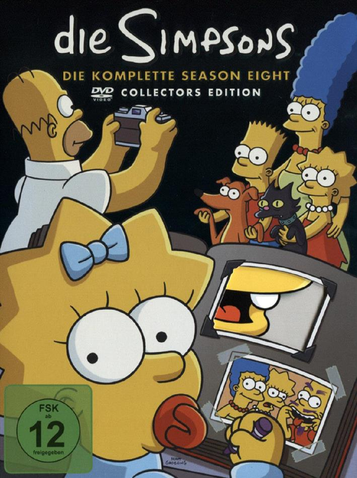 Die Simpsons - Staffel 8 (Collector's Edition, 4 DVDs)