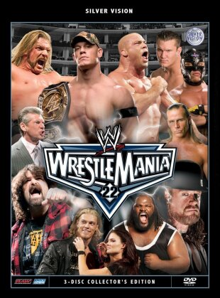 WWE: Wrestlemania 22 (Collector's Edition, 3 DVDs)