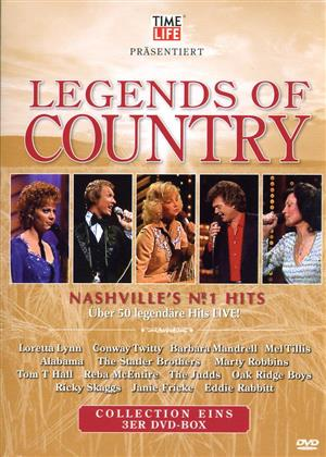 Various Artists - Legends of Country (3 DVDs)