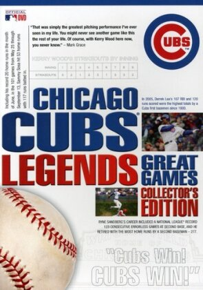 MLB: Legends - Chicago Cubs (Collector's Edition, 8 DVDs)