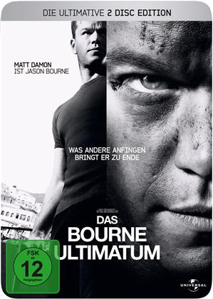 Das Bourne Ultimatum (2007) (Steelbook, 2 DVDs)