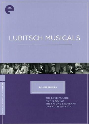 Lubitsch Musicals - Eclipse Series 8 (Criterion Collection, 4 DVD)