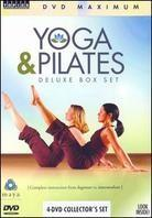 Yoga & Pilates (Box, Deluxe Edition, 4 DVDs)