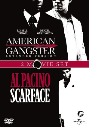 American Gangster / Scarface (Extended Edition, Uncut, 2 DVDs)