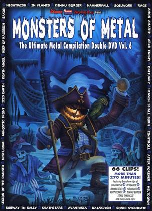 Various Artists - Monster of Metal Vol. 6 (Limited Edition, 2 DVDs)