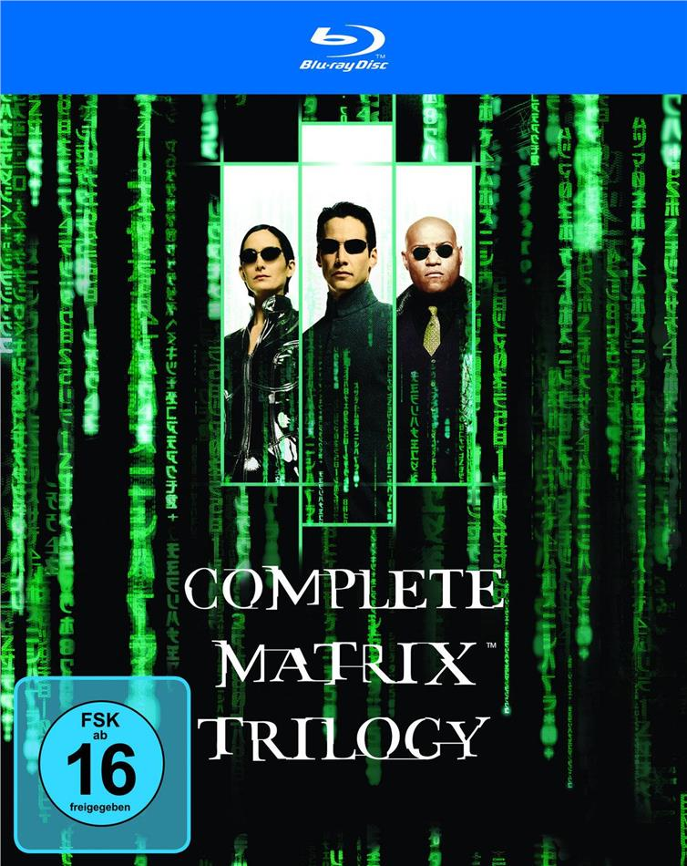 Matrix - Complete Trilogy (3 Blu-rays)