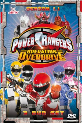 Power Rangers: Operation Overdrive - Staffel 15 - Staffel 1.1 (Steelbook, 3 DVDs)