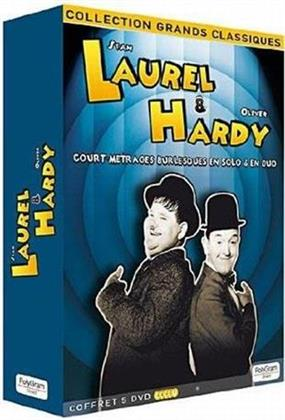 Stan Laurel & Oliver Hardy - Coffret (s/w, 5 DVDs)