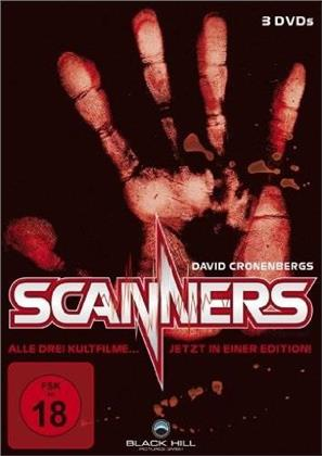 Scanners 1-3 (3 DVDs)
