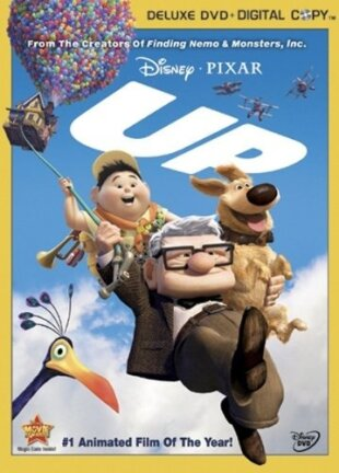 Up (2009) (Deluxe Edition, DVD + Digital Copy)