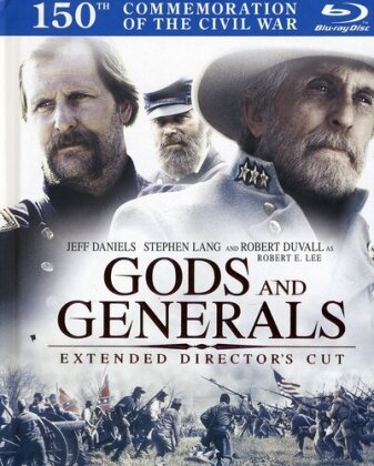 Gods and Generals (2003) (Director's Cut, 2 Blu-rays)