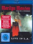 Marilyn Manson - Guns, god and government - Live in L.A.
