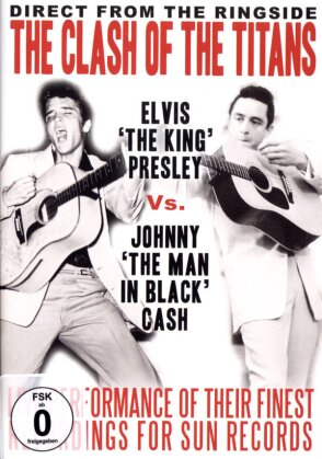 Elvis Presley & Johnny Cash - The Clash of The Titans (Inofficial)