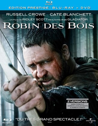 Robin des bois (2010) (Deluxe Edition, Blu-ray + 2 DVDs)