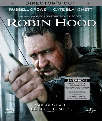 Robin Hood (2010) (Director's Cut, Blu-ray + DVD)