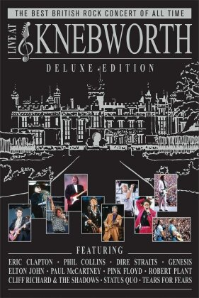Various Artists - Live at Knebworth (Deluxe Edition, 2 DVD + 2 CD)