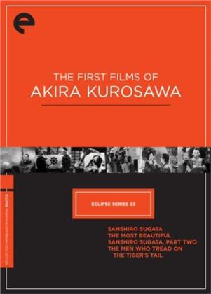 The First Films of Akira Kurosawa - Eclipse Series 23 (Criterion Collection, 4 DVD)