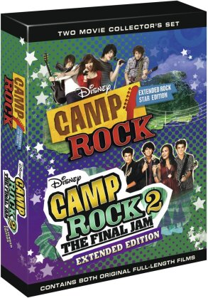 Camp Rock / Camp Rock 2 (Extended Edition, 2 DVDs)