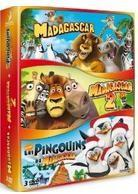 Madagascar 1 & 2 / Pingouins Mission Noël (Box, Limited Edition, 3 DVDs)