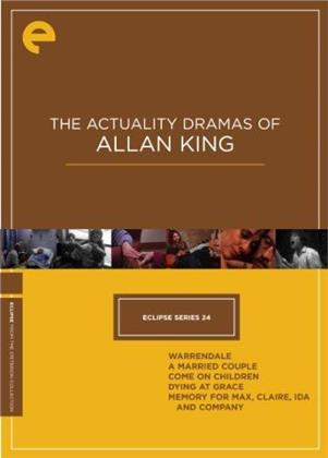 The Actuality Dramas of Allan King - Eclipse Series 24 (Criterion Collection, 5 DVDs)