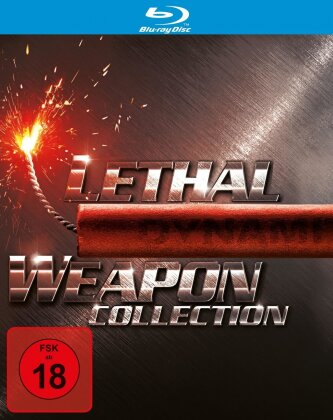 Lethal Weapon 1-4 - Collection (5 Blu-rays)